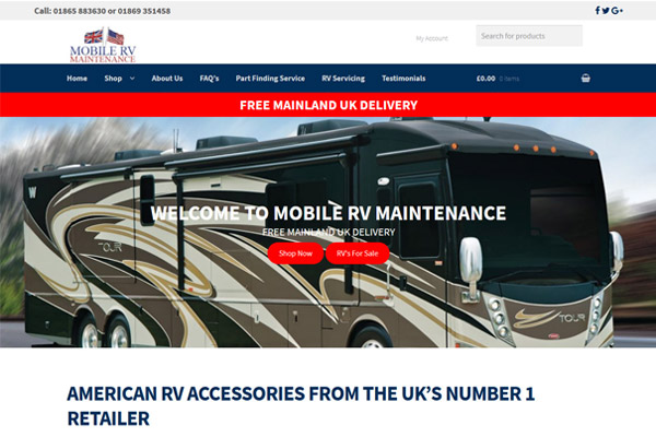 Mobile RV Maintenance